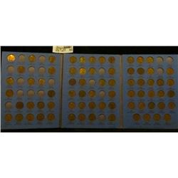 70 different Lincoln Cents in a Whitman coin folder 1909-40. Includes 1912D, 13D, 15D, 23S, 26S, 32P
