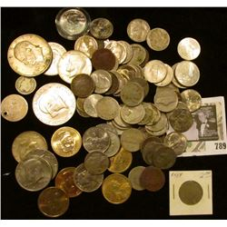 (18) Jefferson Nickels; (25) Buffalo Nickels; (14) Liberty Nickels; Roosevelt, Mercury, and Barber D