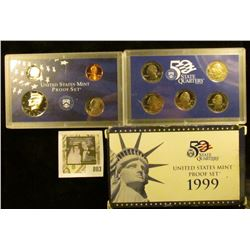 1999 S U.S. Proof set in original box of issue.