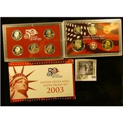 2003 S Silver U.S. Proof Set in original box of issue.