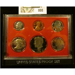 1980 S U.S. Proof set in original box of issue.