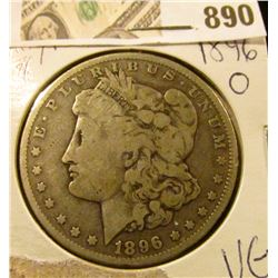 Morgan $ 1896-O VG  scarce in higher grades