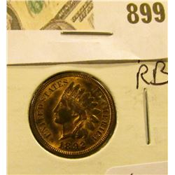 1892 Indian Head Cent MS 63/64 RB  nice coin