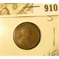 1912 S Lincoln Cent VF