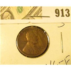 1914 S Lincoln Cent VG-F