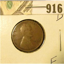 1924 D Lincoln Cent F