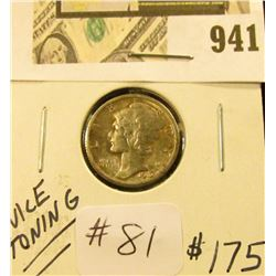 1916 S Mercury Dime  MS 63  FSB
