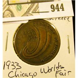 1933 Chicago Worlds Fair - Hall of Science Coin