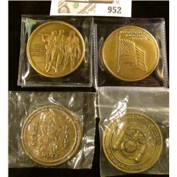 2 - US Marines Recruit Depot San Diego Medals: 1 - Dept of the Army Medal,  1 - USA Veteran  medal