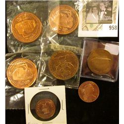 Group of mostly Copper Misc tokens & medals, does include a Denver mint medal, Coin-a- Rama 50 yr co
