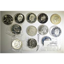 40% SILVER IKE DOLLAR LOT $12.00 FACE VALUE