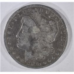 1890-CC MORGAN DOLLAR  VG/F