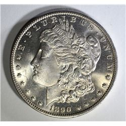 1890-O MORGAN DOLLAR  GEM BU