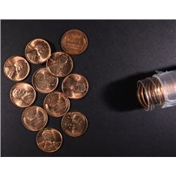 1949-D BU LINCOLN CENT ROLL