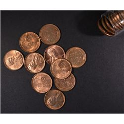 1950 BU LINCOLN CENT ROLL