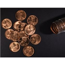 1947 BU LINCOLN CENT ROLL