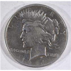 1921 PEACE DOLLAR  VF/XF