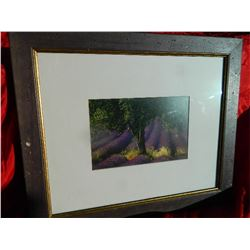 FRAMED PICTURE - TREE