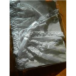 LINGERIE - NEW LADIES WAIST GARTER BELT - WHITE - ONE SIZE FITS ALL