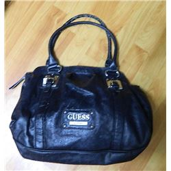 PURSE FROM ESTATE - ?GUESS? - BLACK AS-IS - SEE PICTURES
