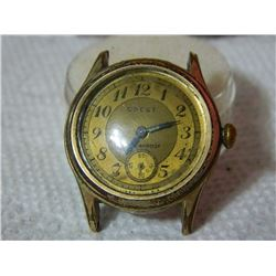 WATCH - CREST - NO STAP - ENGRAVED ON BACK - R82960