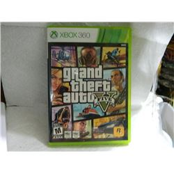 XBOX 360 GAME - GRAND THEFT AUTO 5 - BOOK, DISKS, MAP & CASE