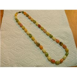 "BEADED NECKLACE - 22"" LONG  - MULTI COLOR"