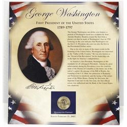 George Washington, The First President Proof Coin