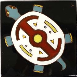 Thrall Signed & Numbered Turtle Tile