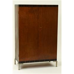Cupboard, Record, birch and palisander