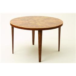 Table, elm, NK, marked: 28 11 45