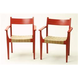 Armchairs, 2 , Hans Wegner, Carl Hansen