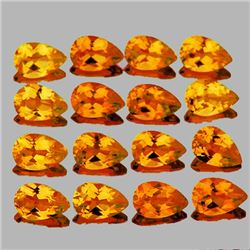 Natural Intense Golden Yellow Citrine {Flawless-VVS1}