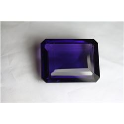 Natural Purple Violet Purple Octagon Amethyst 211 Cts.
