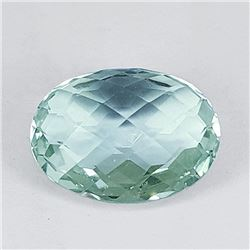 Natural Double Checker Green Amethyst 16x12 MM - FL