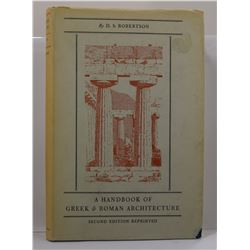 Robertson: A Handbook of Greek & Roman Architecture
