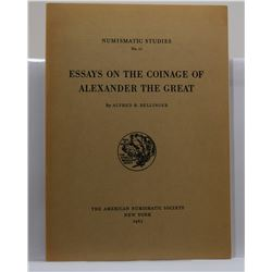 Bellinger: Essays on the Coinage of Alexander the Great