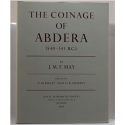 May: The Coinage of Abdera (540-345 B.C.)