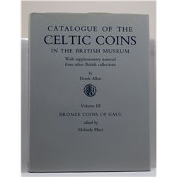 Allen: Catalogue of the Celtic Coins in the British Museum with Supplementary Material from other Br