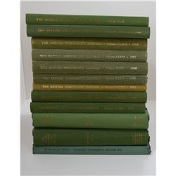 British Numismatic Society: The British Numismatic Journal Lot of 19 Volumes