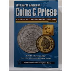 Harper: 2013 North American Coins & Prices: A Guide to U.S., Canadian, and Mexican Coins