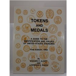 Alpert: Tokens and Medals: A Guide to the Identification and Values of United States Exonumia