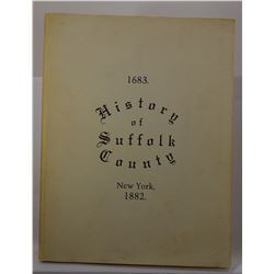 Anonymous: History of Suffolk County, New York: with Illustrations, Portraits, & Sketches of Promine