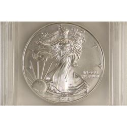 2012 AMERICAN SILVER EAGLE ICG MS70 1ST DAY ISSUE