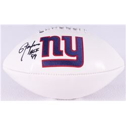 "Lawrence Taylor Signed Giants Logo Football Inscribed ""HOF 99"" (Radtke Hologram)"