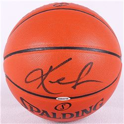 Kevin Love Signed NBA Game Ball Series Basketball (UDA COA)