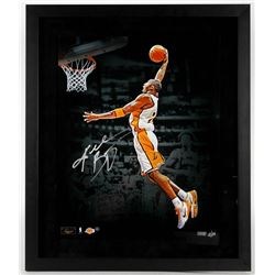 Kobe Bryant Signed LE Lakers 22x26 Custom Framed Photo (Panini COA  Steiner COA)