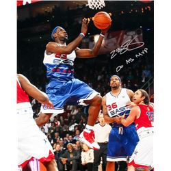 "LeBron James Signed 2006 All-Star Game 16x20 Photo Inscribed ""06 AS MVP"" (UDA COA)"