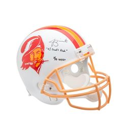 "Jameis Winston Signed Buccaneers LE Full-Size Helmet Inscribed ""#1 Draft Pick"" (UDA COA)"