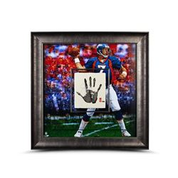 John Elway Signed LE 36x36 Custom Framed Tegata Display (UDA COA)